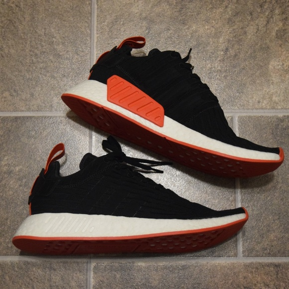 best sneakers 65212 46553 Adidas NMD R2 PK Primeknit Core Black